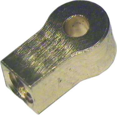 Zylinder Endstück Bohrung 1,5mm
