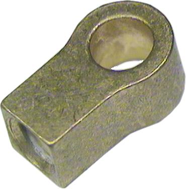 Zylinder Endstück Bohrung 2,5 mm