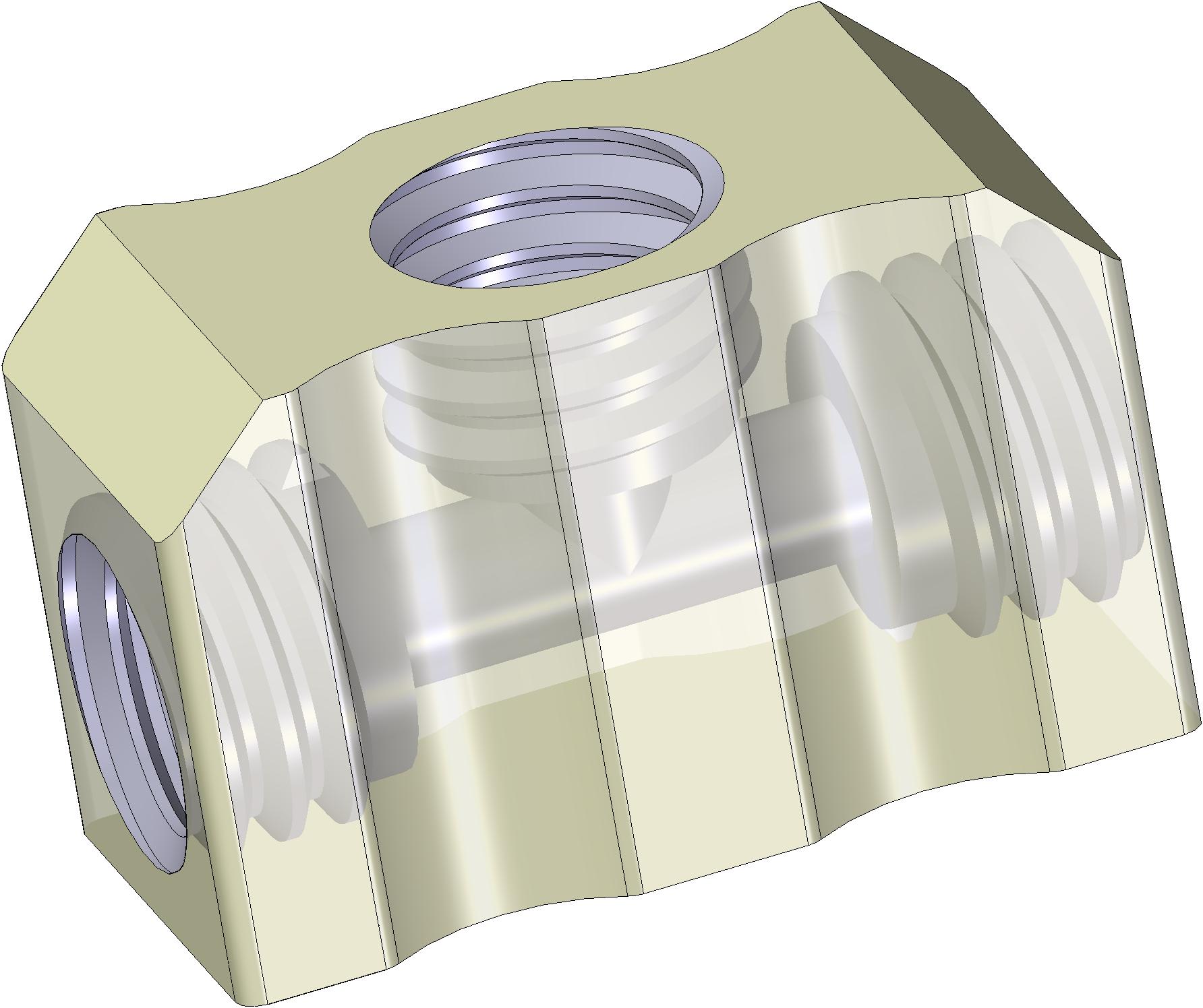 3-way connector M3